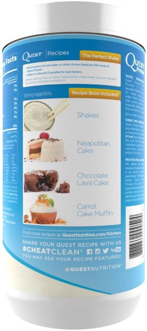 Quest Nutrition Protein Powder, Vanilla Milkshake