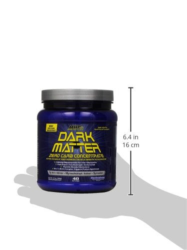 MHP Dark Matter, Zero Carb Concentrate, Post-Workout Muscle Growth Accelerator, Blue Raspberry