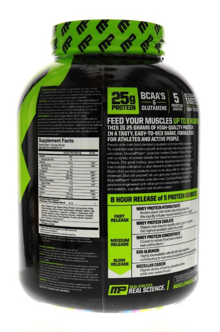 Muscle Pharm Combat Powder Advanced Time Release Protein, Vanilla