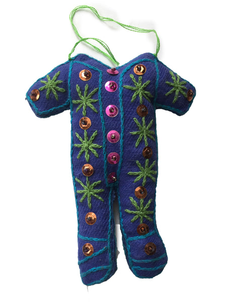 Ornament: Pajama Suit