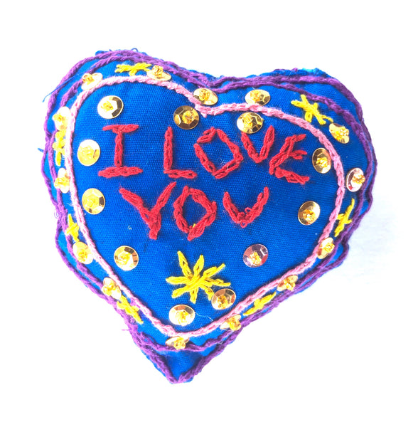 "Ornament: ""I Love You"" Heart"