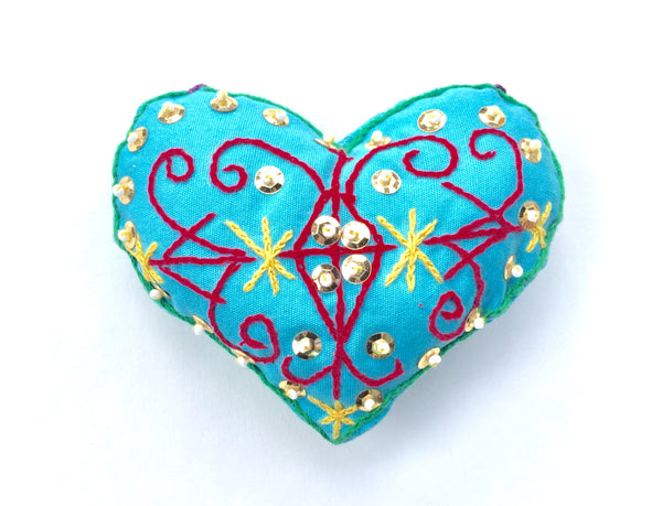 Ornament: Veve Heart
