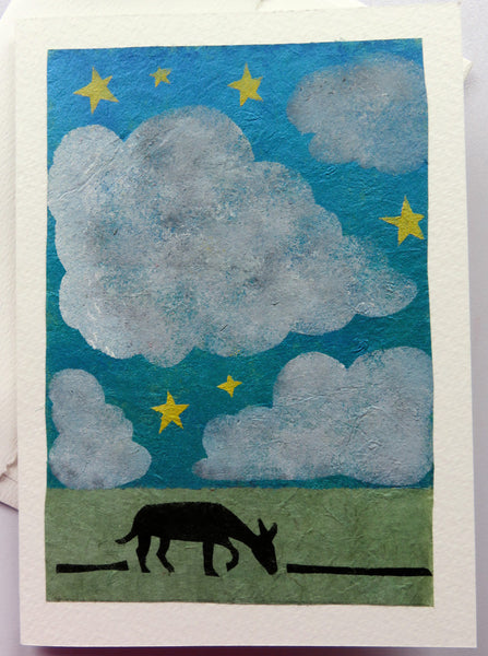 Handmade Cards: Big Clouds