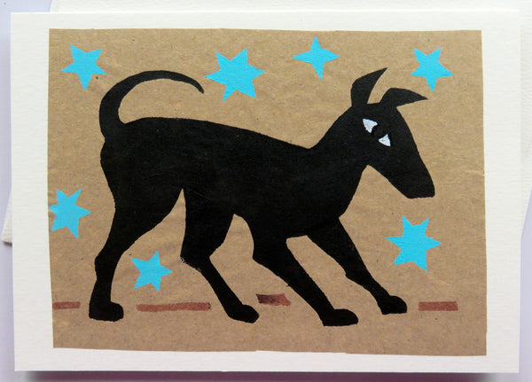 Handmade Card: Happy Dog
