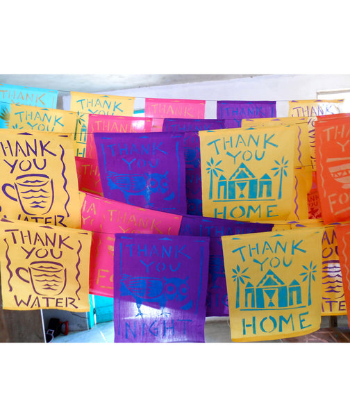 Thank You Flags; Set of 7
