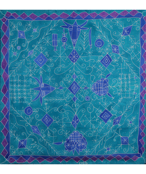 Veve Turquoise Square