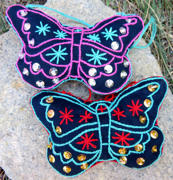 Ornament: Playful Butterfly