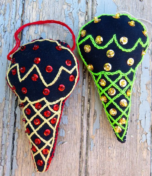 Ornament: Ice Cream Cone
