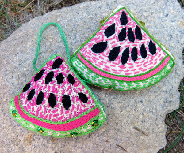Ornament: Water Melon Lovers