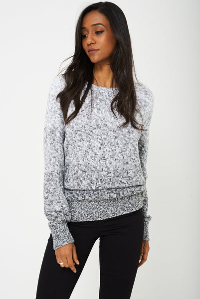 Chunky Jumper In Ombre Ex-Branded