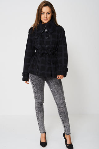 Jacket In Check Print Ex-Branded