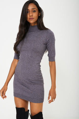 Grey Soft Tunic Top Ex-Branded