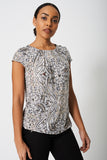 All Over Paisley Print Top Ex-Branded