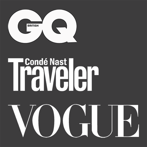 Stubble & Co seen in GQ, Conde Nast Traveler and Vogue