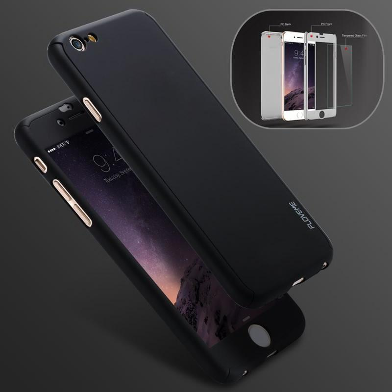 superior quality cf544 b0fe2 360 Degree Full Protect Cover for iPhone 6/6S/6S Plus