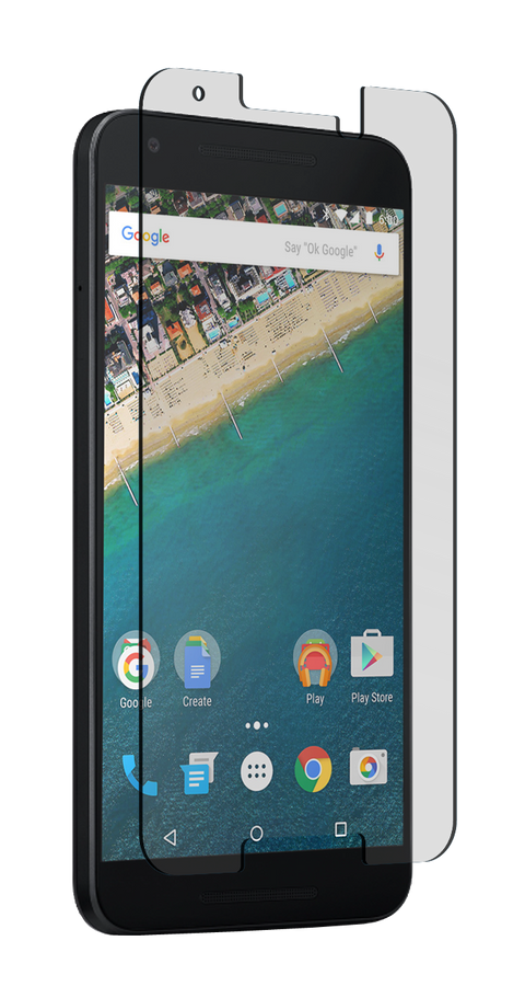 Nitro Glass Screen Protector for Google Nexus 5X - Clear