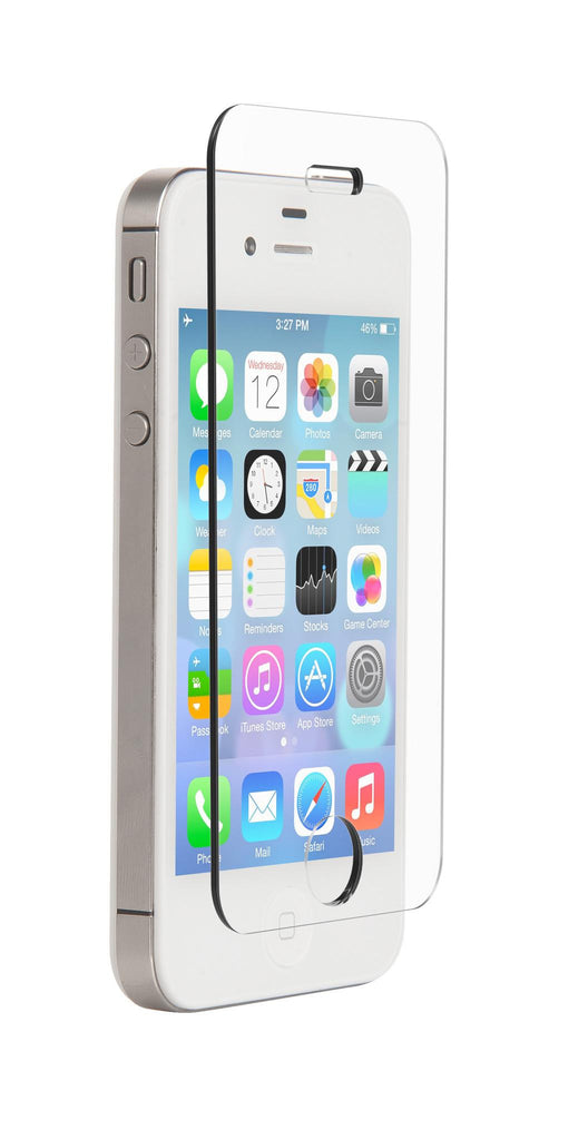 Nitro Glass Screen Protector for Apple iPhone 4/4s - White
