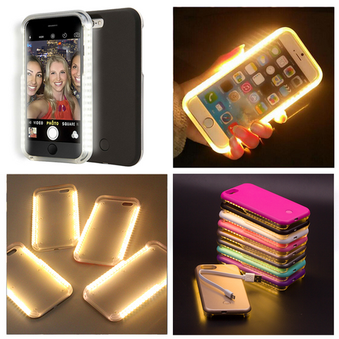 "$20 OFF - Luxury LED Light ""Selfie"" Phone Case"