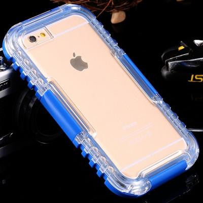 Waterproof Heavy Duty Hybrid Swimming Dive Case for iPhones