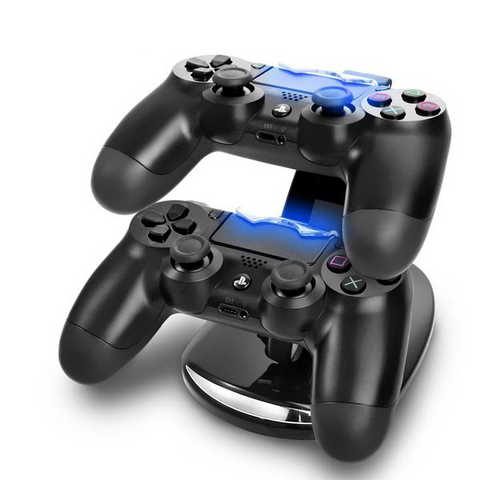 Dual USB Charging Station Stand for PS4
