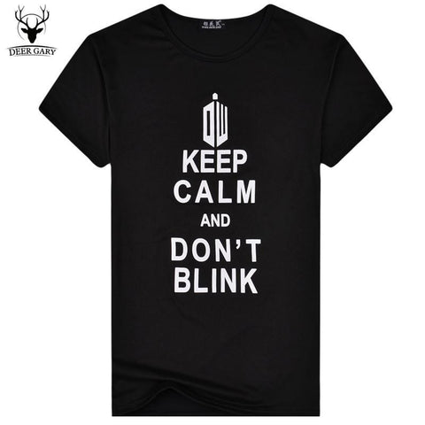 Keep Calm, Don't Blink T-Shirt