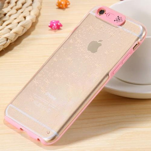 Cool Calling Flash Clear Case for Apple iPhone 5 5S /SE Clear Cover