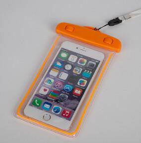 Luminous PVC Waterproof Bag Pouch Durable Case Cover for iPhone and Samsung