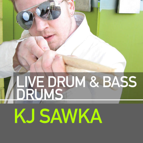 Live Drum And Bass Drums by KJ Sawka