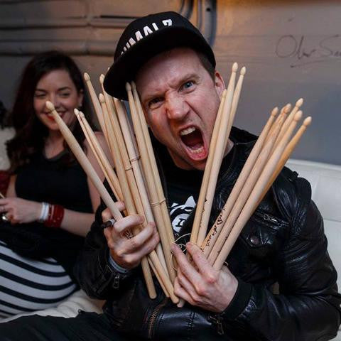 Autographed Tour Drum Stick