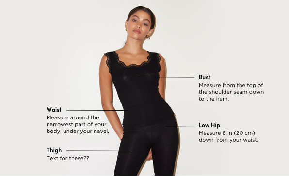 Women's Measuring Guide