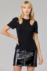 Berlin Patent Skirt - Black