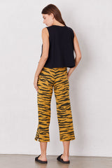 LNA Brushed Tiger Print Kismet Pant