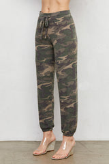 LNA Brushed Camo Print Jogger Sweatpants