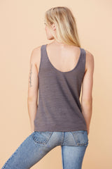 Cross Strap Tank - Carbon