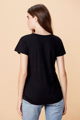 Cross Tee - Black