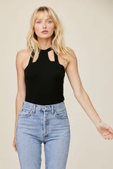 LNA Clothing Elian Cutout Tank Top