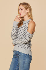 LN Striped Flynn Sweater
