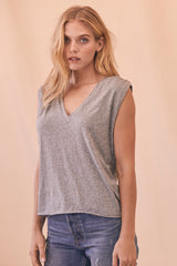 LNA Grey Lyle Sleeveless Tank