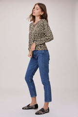 LNA Brushed Leopard Print Phased