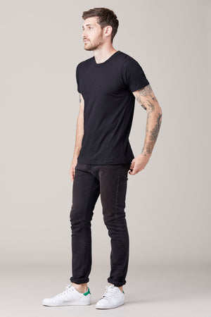 Men's Short Sleeve Crew - Black