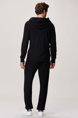 LNA Men's Black Hacci Sweatpant