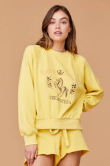 Rancho Sweatshirt - Cream Gold