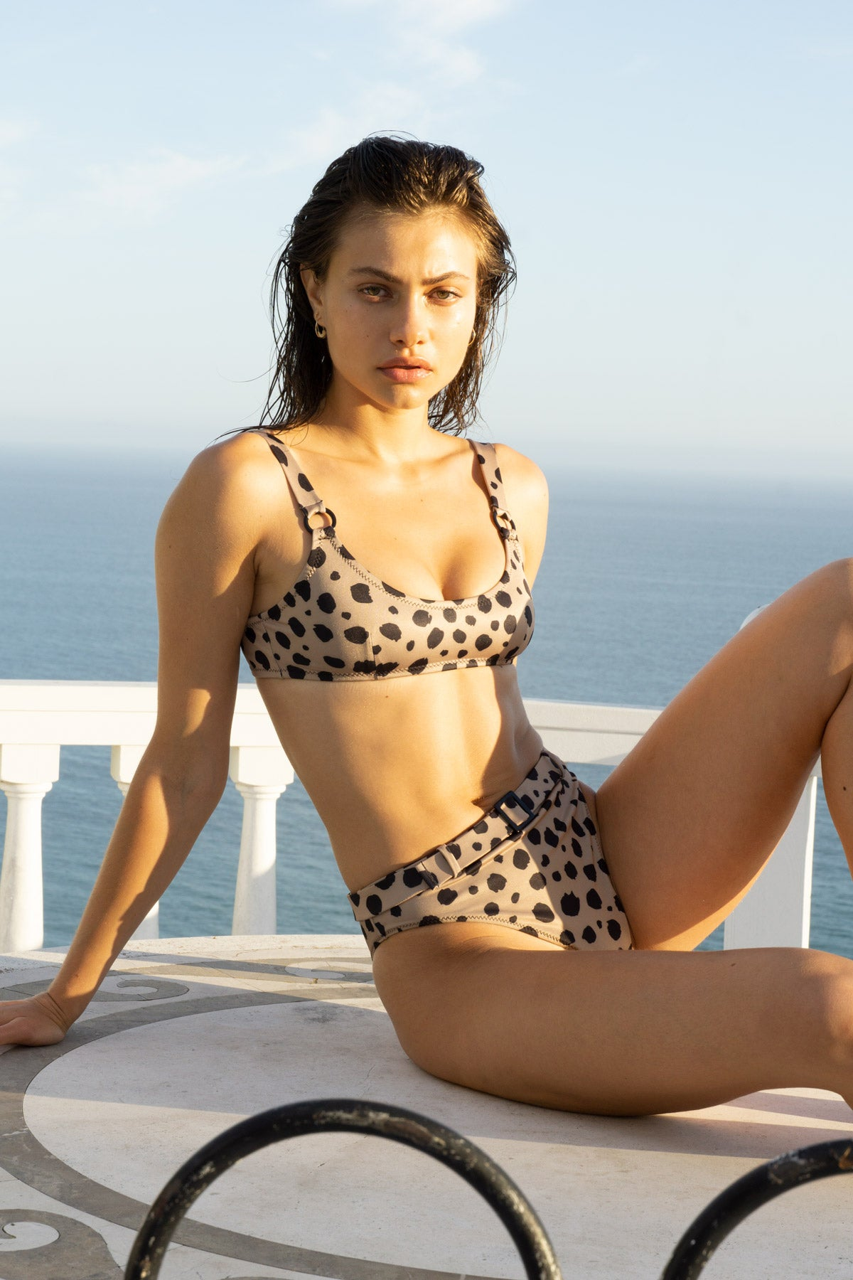 Ravello Ring Top - Cheetah