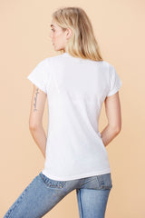 Short Sleeve Crew - White
