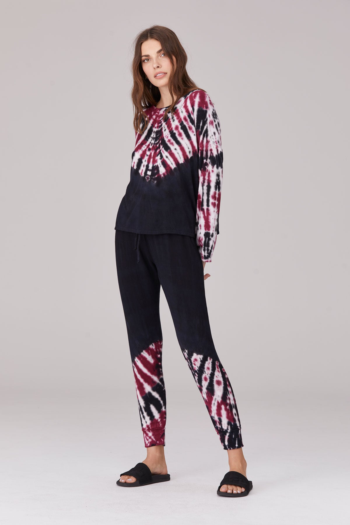 LNA Milky Way Tie Dye Sweat Pant