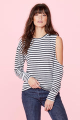 Evolver Sweater - Natural Stripe