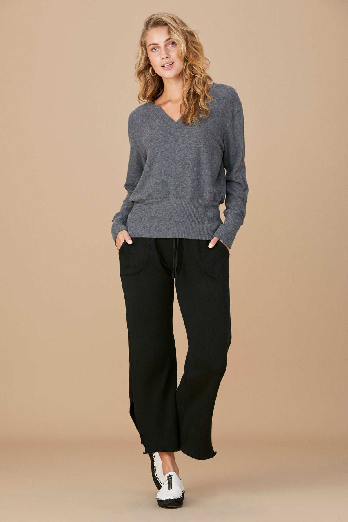 Brushed Ross Sweater - Marengo