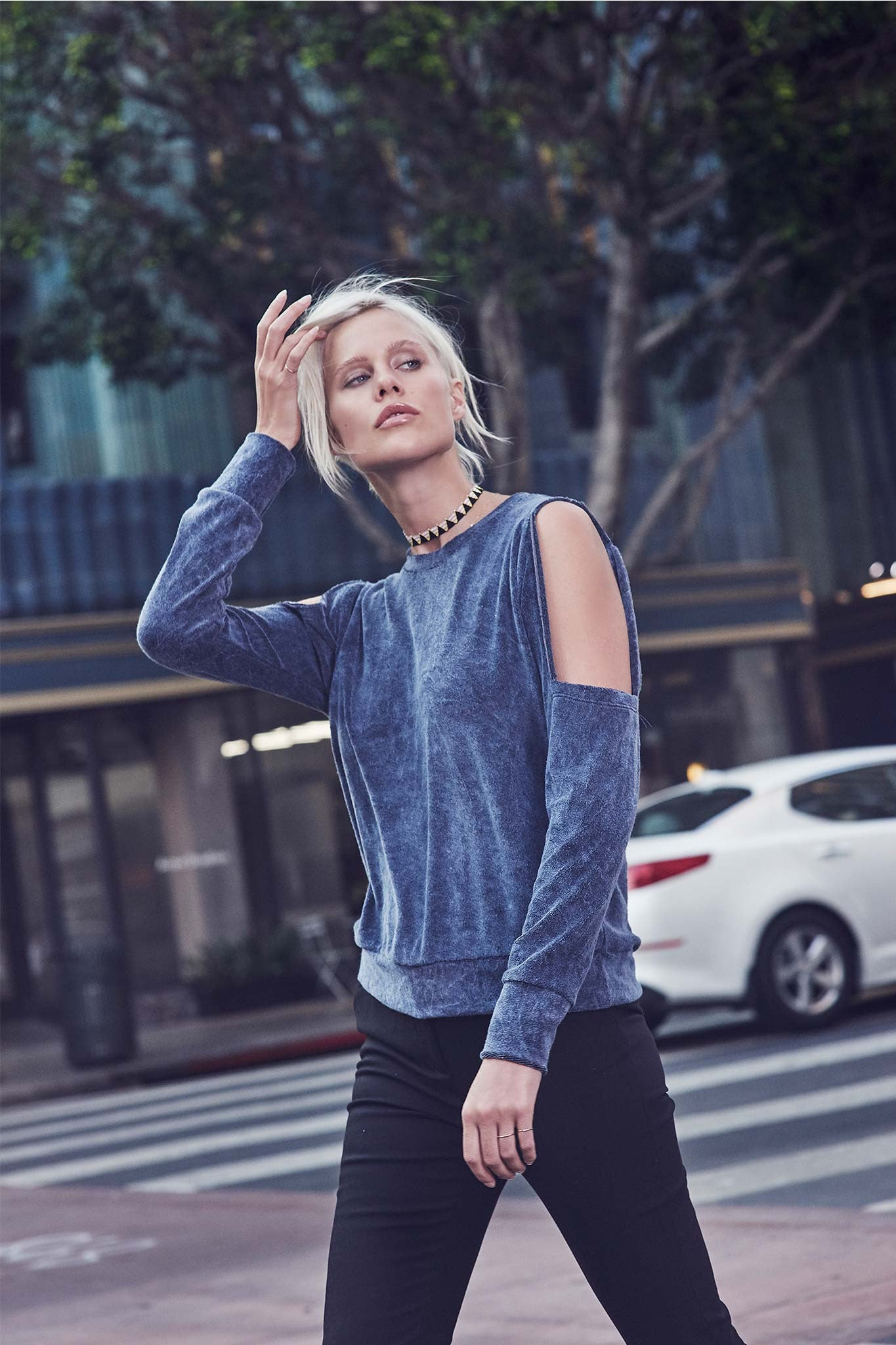 Exclusive: The LnA Tees Spring Lookbook Is HuePerfection recommend