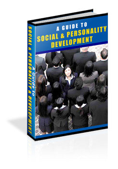 A Guide To Social and Personality Development