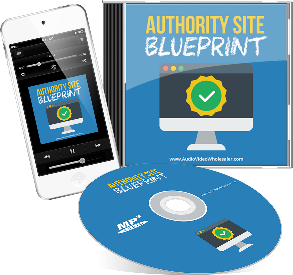 Authority Site Blueprint Audio Book (Master Resell Rights License)